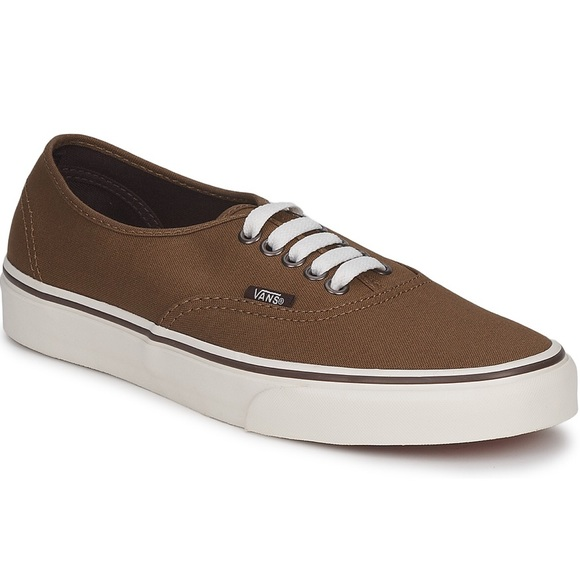 5667869812 👓New Vans Authentic Sneakers Marshmallow   Sepia